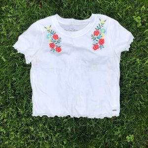 Hollister embroidered tee